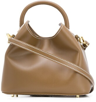 Elleme Baozi contrast stitching tote bag