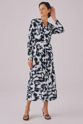 C/Meo SOUND ADVICE DRESS Ivory Ink Dye