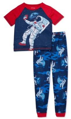 Komar Kids 4-16 Short Sleeve Long Pant, 2-Piece Pajama Set