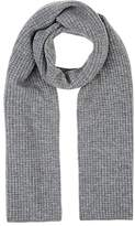 Barneys New York WOMEN'S RIBBED WAFFLE-KNIT SCARF