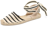 Soludos Striped Espadrille Sandals