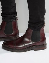 Base London Edison Leather Chelsea Boots