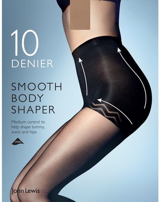 John Lewis & Partners 10 Denier Smooth Body Shaper Tights