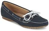 Sebago MERIDEN TWO EYE women's Boat Shoes in Blue