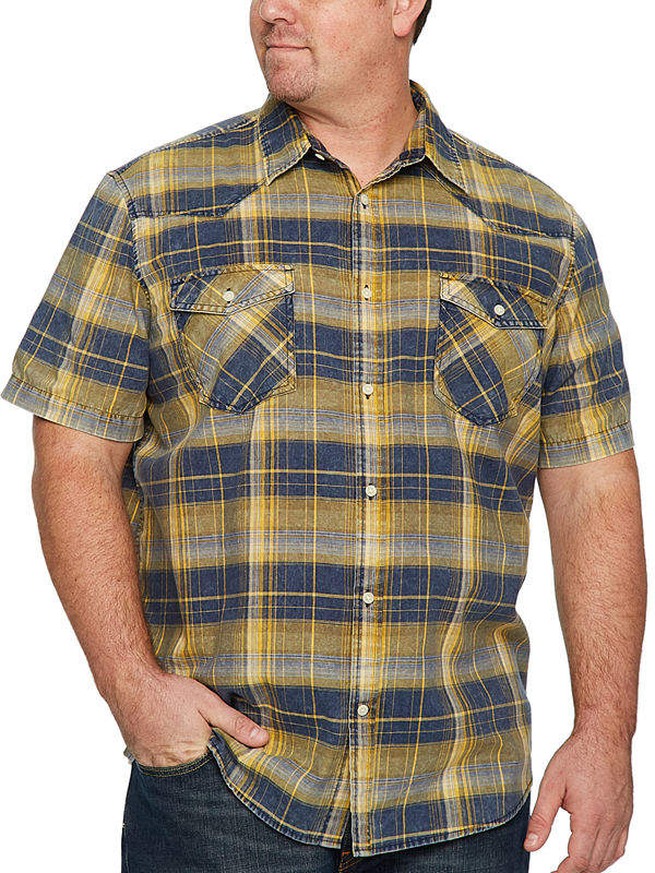 e2b1c44e5db9 Yellow Men's Big And Tall Clothes - ShopStyle