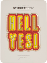 Anya Hindmarch Hell Yes large sticker