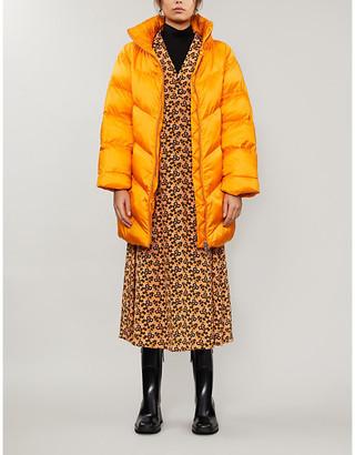 Gestuz Joylee high-neck padded shell coat
