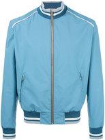 Maison Margiela contrast collar bomber jacket - men - Polyamide/Polyester/polyester - 48