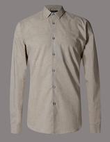 Autograph Luxury Supima® Cotton Tailored Fit Shirt