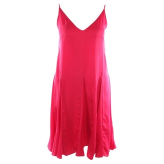 Rhode Resort Red Synthetic Dresses