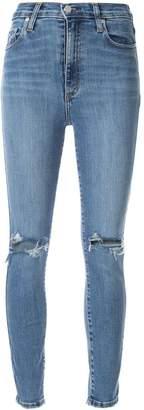 Nobody Denim Siren ankle crop skinny jeans