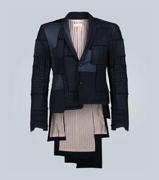 Thom Browne Exclusive to Mytheresa - stacked hem tuxedo