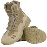 FREE SOLDIER Outdoor Men 6 Inches Hiking Shoes Scratch-resistant Desert Tactical Duty Work Boots (10, )