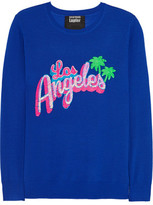 Markus Lupfer Los Angeles Sequined Merino Wool Sweater