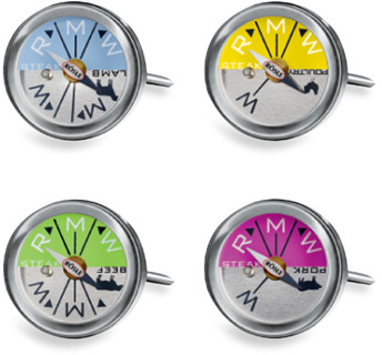 Rosle Meat And Steak Thermometers - Set of 4