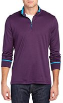 Robert Graham Men's Harbor Long Sleeve Mock Neck Sweater