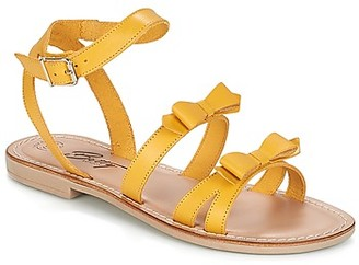 Betty London ITATAME women's Sandals in Yellow
