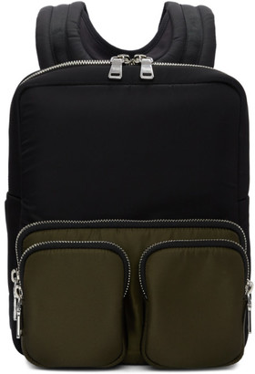 Prada Black Harness Backpack