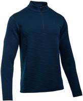 Under Armour Men's Striped Quarter-Zip Sweater