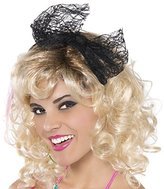 Fun World Costumes 80s Black Lace Hair Tie