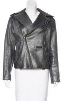 Louis Vuitton Leather Moto Jacket