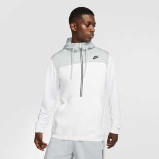 Nike Men's Sportswear Mixed Fleece Half-Zip Hoodie