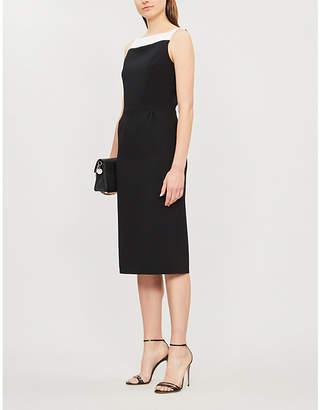 Givenchy Megan wool-crepe pencil dress