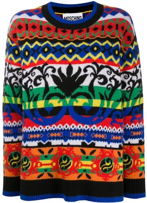 Moschino Abstract Pattern Jumper