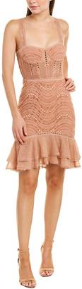 Jonathan Simkhai Lace Mini Sheath Dress