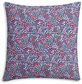 "Cupcakes And Cashmere Sketch Floral Decorative Pillow, 18"" x 18"""