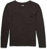Kapital - Distressed Cotton-jersey T-shirt