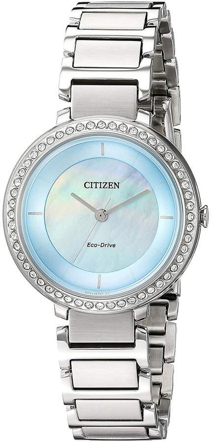 Citizen Women's Shilhouette Stainless Steel Watch