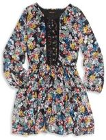 Ella Moss Girl's Embroidered Floral Dress