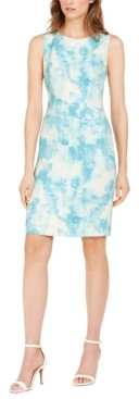 Nine West Print Sheath Dress