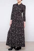 Cotton Candy Floral Blouse Dress