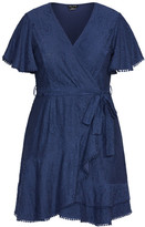 City Chic Sweet Love Lace Dress - navy
