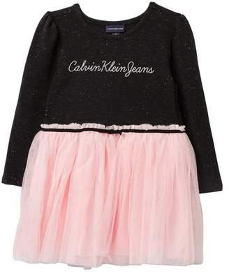 Calvin Klein Sparkle Tutu Dress (Little Girls)