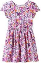Joe Fresh Toddler Girls' Essential Print Dress, Pink (Size 4)