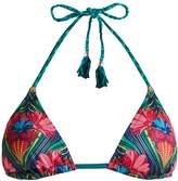 PAOLITA Agave triangle bikini top