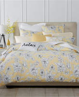 Charter Club Damask Designs Butter Floral 3-Pc. Full/Queen Comforter Set