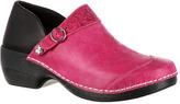 Women's 4EurSole Western Embellished Leather Clog RKYH035