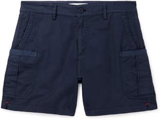 Orlebar Brown Bulldog Stretch Linen And Cotton-Blend Twill Cargo Shorts
