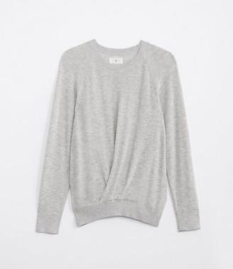 LOFT Lou & Grey Pleated Sweater