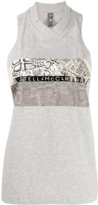 adidas by Stella McCartney Graphic-Print Tank Top