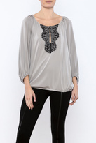 Ella Moss Lace Inset Top