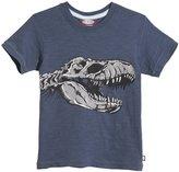 City Threads T-Rex Skull Graphic Tee (Baby) - Midnight-18-24 Months