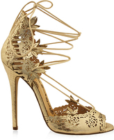Marchesa Antique Gold Nappa Clara Sandal