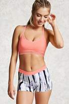 Forever 21 Active Paint Print Shorts