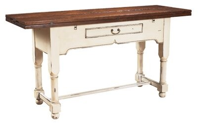Thumbnail for your product : MacKenzie-Dow Flip Top Console Table with Drawer