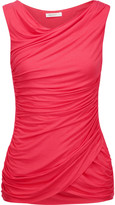 Bailey 44 Ruched stretch-jersey tank